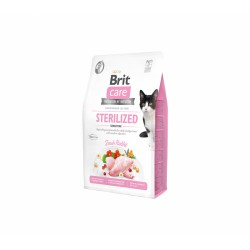 Brit Care Cat GF Sterilized Sensitive sausas maistas katėms