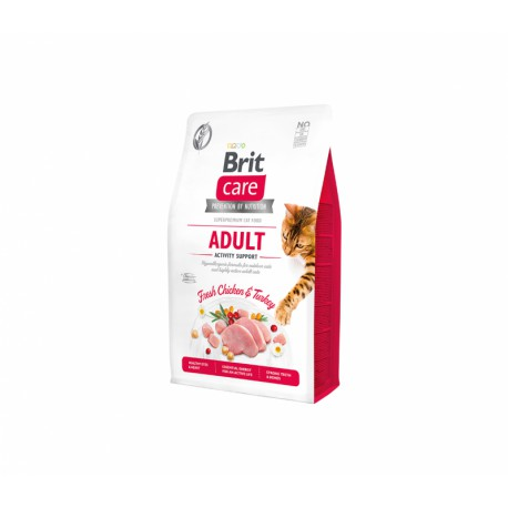 Brit Care Cat GF Adult Activity Support sausas maistas katėms
