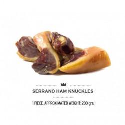 Serrano vytinto kaulo sąnarys su mėsa šunims (vakuume)