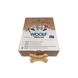 WOOLF Natural Bone with Beef hide, Poultry liver & Yucca skanėstai šunims