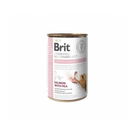 Brit GF Veterinary Diet Hypoallergenic konservai šunims