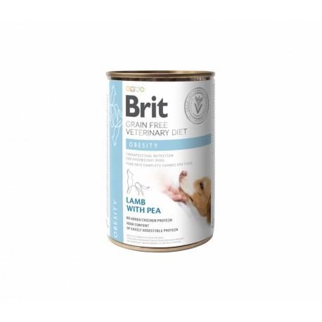 Brit GF Veterinary Diet Obesity konservai šunims