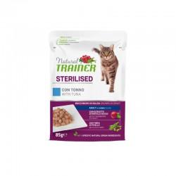 Natural Trainer Cat Sterilised Beef Konservai Katėms Su Jautiena