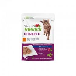 Natural Trainer Cat Sterilised Tuna Konservai Katėms Su Tunu