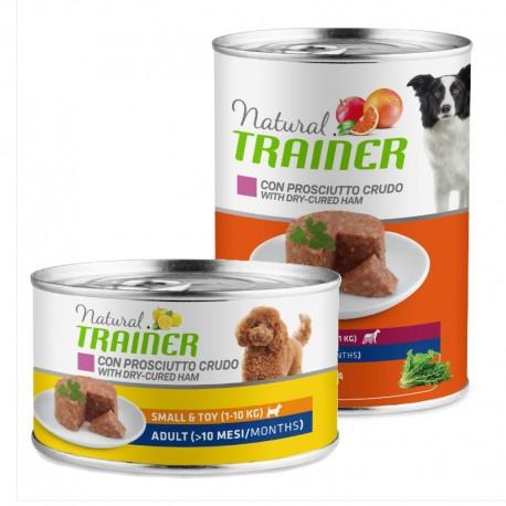 Natural Trainer Dog Adult Ham konservai šunims su kumpiu