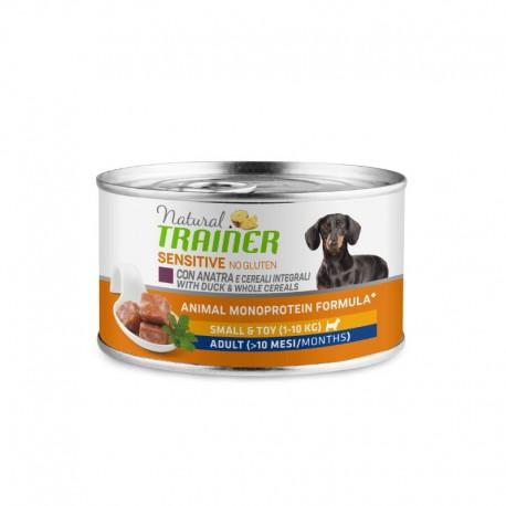 Natural Trainer Dog Sensitive Duck konservai šunims su antiena