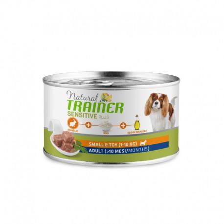 Natural Trainer Dog Sensitive Plus Rabbit konservai šunims su triušiena