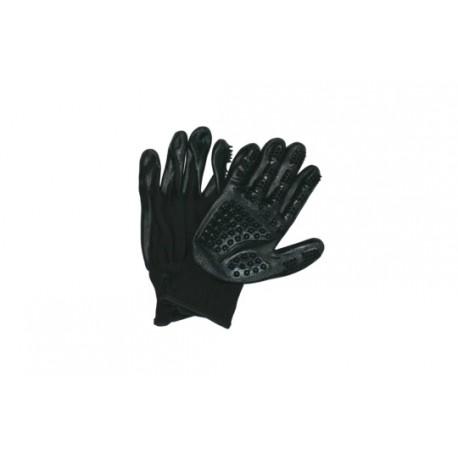 Pawise Pet Deshedding Glove guminės pirštinės šukavimui