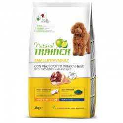 Trainer Natural Small&Toy Adult su kumpiu sausas maistas šunims