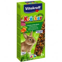 Vitakraft Kracker Dekoratyvinių triušių gardėsiai su daržovėmis
