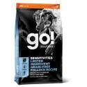 Go! Solutions Sensitivities Grain Free sausas maistas šunims su aliaskos menke
