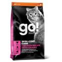 Go! Solutions Skin + Coat Care sausas maistas katėms su vištiena ir sveikais grūdais