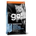 Go! Solutions Sensitivities Grain Free sausas maistas katėms su aliaskos menke