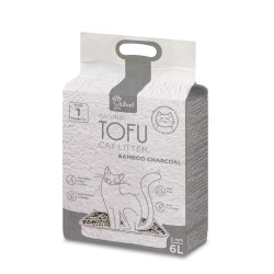 Velvet Paw Tofu Kraikas katėms su bambuko anglimi