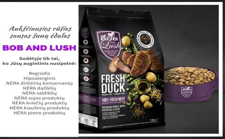 Bob And Lush sausas šunų maistas - geriausias pasirinkimas